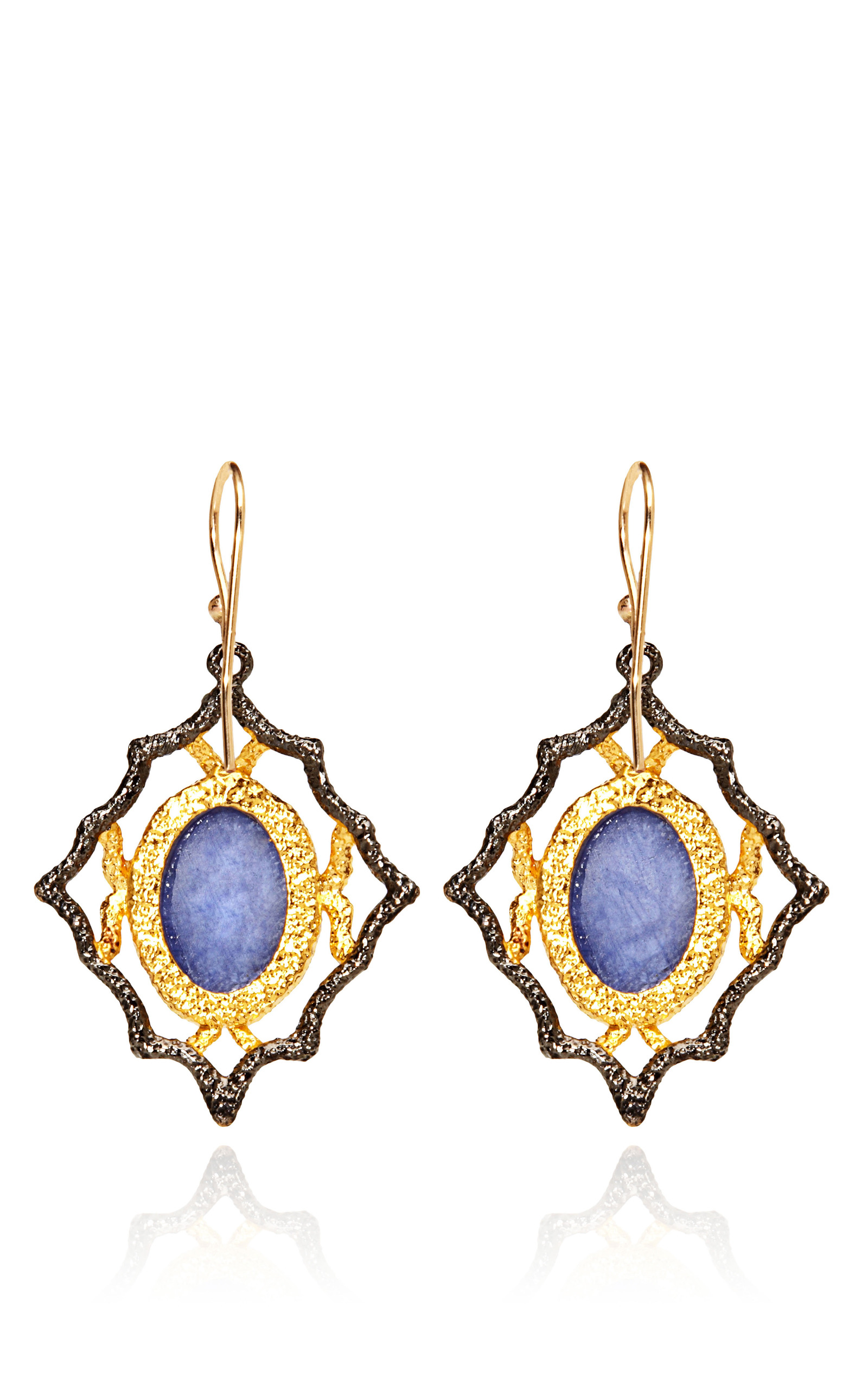 jardin de papillon lace wire earring by alexis bittar