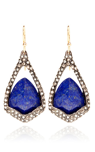 Medium alexis bittar blue hyperion drop and lapis earring