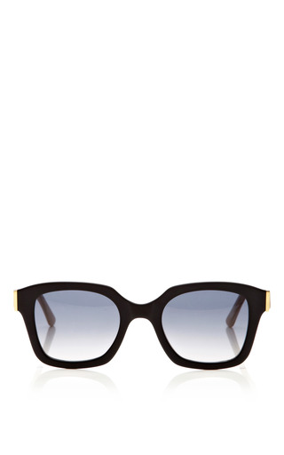 Medium marni green acetate sunglasses
