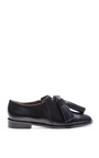 Leather Tasseled Moccasin by MARNI Now Available on Moda Operandi