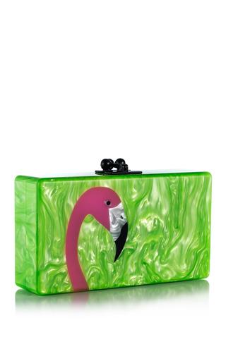 Medium edie parker multi lime green pearlescentmulti jean flamingo