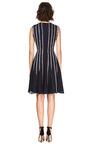Silk Ribbon Detailed Dress by OSCAR DE LA RENTA Now Available on Moda Operandi