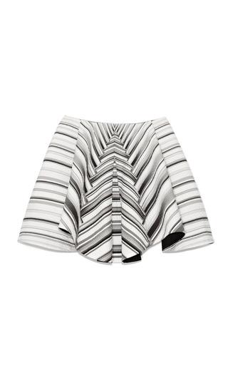 Medium peter pilotto white mk skirt