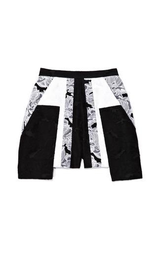 Medium peter pilotto white cate shorts