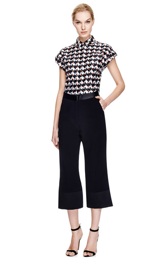 Printed Double Layer Shirt by THAKOON ADDITION Now Available on Moda Operandi