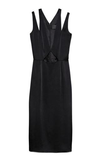 Medium cushnie et ochs black black viscose blend dress