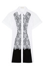 Cate Cotton And Lace Detail Dress by PETER PILOTTO Now Available on Moda Operandi