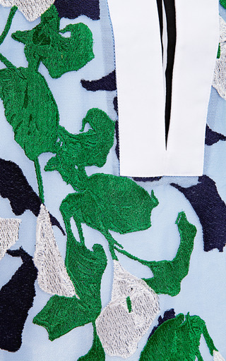 Lea Embroidered Cotton Top by PETER PILOTTO Now Available on Moda Operandi