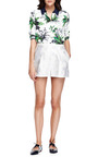 Grace Floral Jacquard Pleated Shorts by PETER PILOTTO Now Available on Moda Operandi