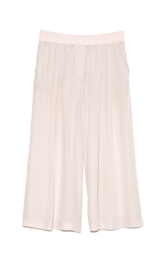 Medium thakoon addition nude crepe de chine culottes