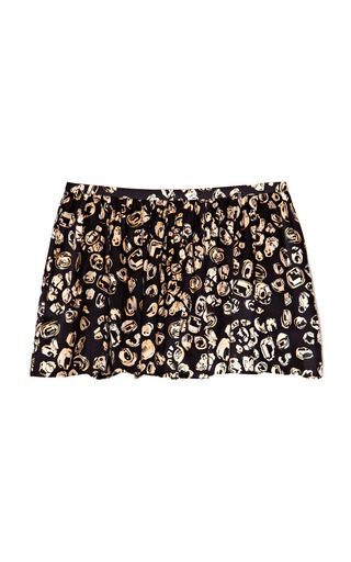 Medium thakoon addition black jewel print full shorts
