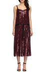 Sequined And Embroidered Pleated Dress by MARC JACOBS Now Available on Moda Operandi