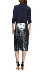 Sequined Striped Pencil Skirt by MARC JACOBS Now Available on Moda Operandi
