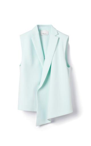 Medium 3 1 phillip lim green double crepe suiting draped vest
