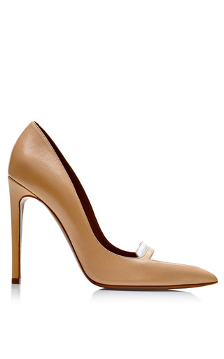 Lexi Two Tone Leather Pumps by TABITHA SIMMONS Now Available on Moda Operandi