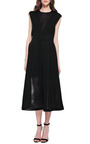 Dazah Wafer Mesh Dress by THEYSKENS' THEORY Now Available on Moda Operandi