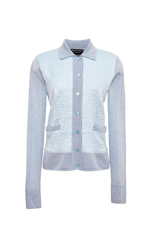 Cashmere And Silk Blend Cardigan by ROCHAS Now Available on Moda Operandi