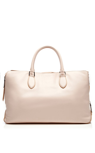 Leather Tote Bag by ROCHAS Now Available on Moda Operandi