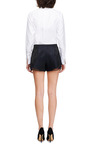 Chiffon Trimmed Embellished Shorts by THAKOON ADDITION Now Available on Moda Operandi