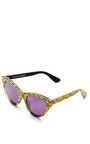 Cat Eye Acetate Sunglasses by OPENING CEREMONY Now Available on Moda Operandi
