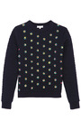 Sparrow Quilted Embellished Sweatshirt by OPENING CEREMONY Now Available on Moda Operandi