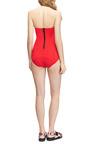 Poppy Stretch Bandeau Swimsuit by LISA MARIE FERNANDEZ Now Available on Moda Operandi