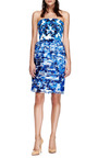 Printed Tiered Organza Dress by PRABAL GURUNG Now Available on Moda Operandi