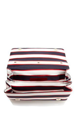 Super Stripes Flap Bag by VALENTINO for Preorder on Moda Operandi