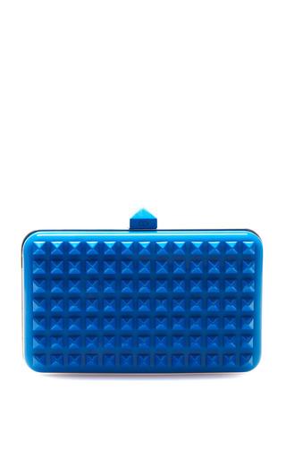 Medium valentino blue studded minaudiere 2