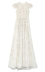 Embellished Chiffon Gown by VALENTINO Now Available on Moda Operandi