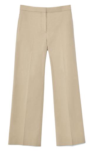 Medium valentino khaki khaki cotton stretch pant
