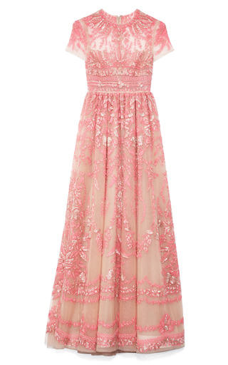 Medium valentino embellished tulle gown