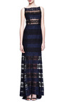 Paneled Lace Gown by NINA RICCI Now Available on Moda Operandi