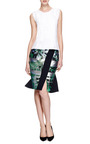 Seam Detail Cotton Top by NINA RICCI Now Available on Moda Operandi