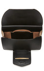 Leather And Suede Clutch by NINA RICCI Now Available on Moda Operandi
