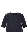 Cropped Twill Top by SUNO Now Available on Moda Operandi