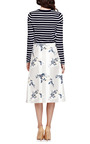 Floral Print Satin A Line Wrap Skirt by SUNO Now Available on Moda Operandi