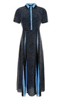 Printed Washed Silk Belted Dress by SUNO Now Available on Moda Operandi