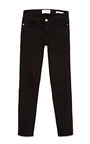 Le Color Crop Skinny Jeans In Film Noir by FRAME DENIM Now Available on Moda Operandi