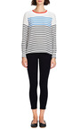 Le Color Crop Skinny Jeans In Deep Blue Dive by FRAME DENIM Now Available on Moda Operandi