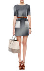 Fila Striped Cotton Jersey Dress by PETIT BATEAU Now Available on Moda Operandi