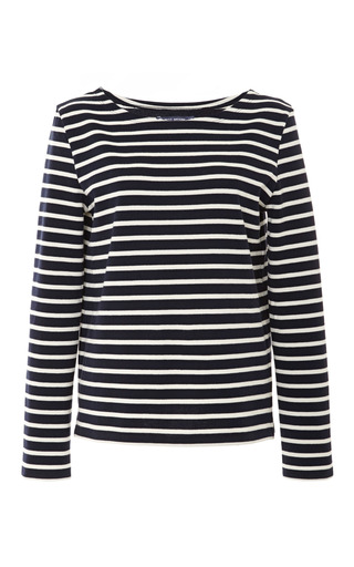 Medium petit bateau blue sailor stripe cotton sweater 2