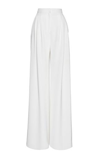 Pantalon Large Jambe - Caroline Blanc Herrera wSGQjXP