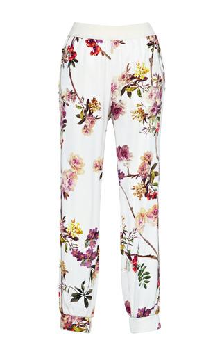 Medium giambattista valli floral embroidery jogging pant