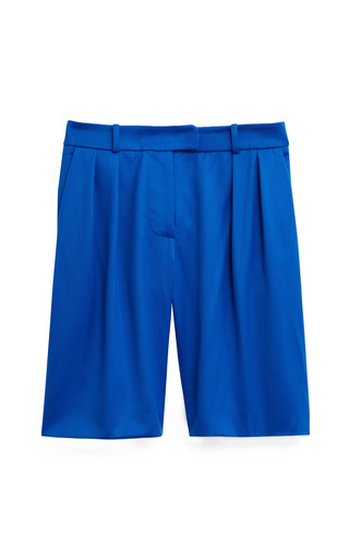 Medium preen blue ballon shorts