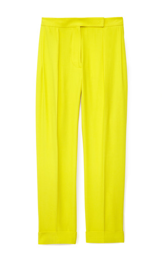 Medium cedric charlier yellow faille legere pants