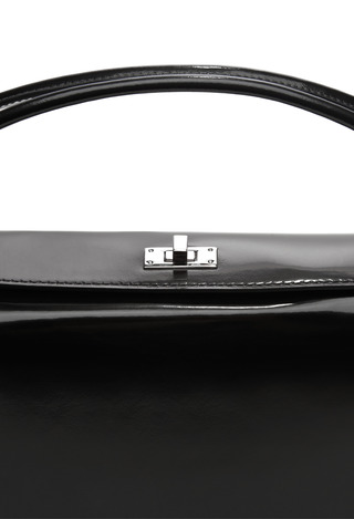 Patent Leather Handbag by CARVEN Now Available on Moda Operandi