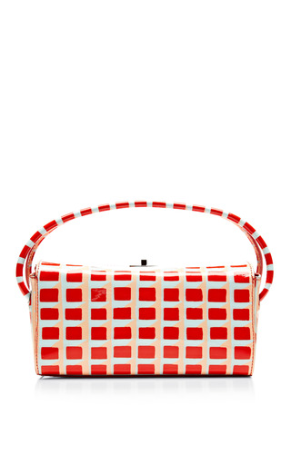 Printed Patent Leather Case by CARVEN Now Available on Moda Operandi