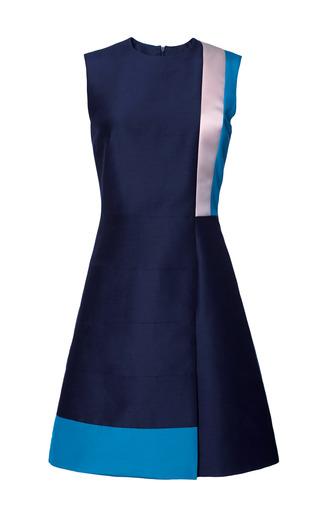 Medium roksanda ilincic off white dupioni kilton dress