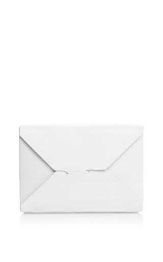 Medium j w anderson white white bento box clutch